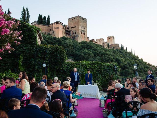 La boda de Tom y Carmen en Granada, Granada 22