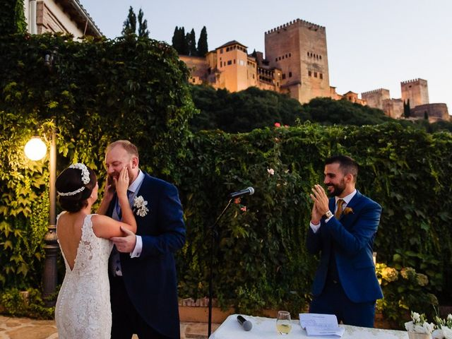 La boda de Tom y Carmen en Granada, Granada 42