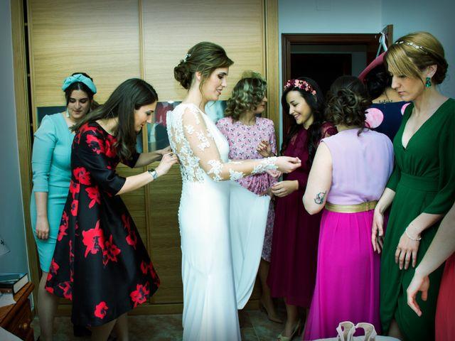 La boda de Javier y Ana en Zarza De Granadilla, Cáceres 17