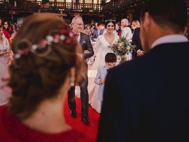 La boda de Arturo y Amaya en Villarrubia De Los Ojos, Ciudad Real 74