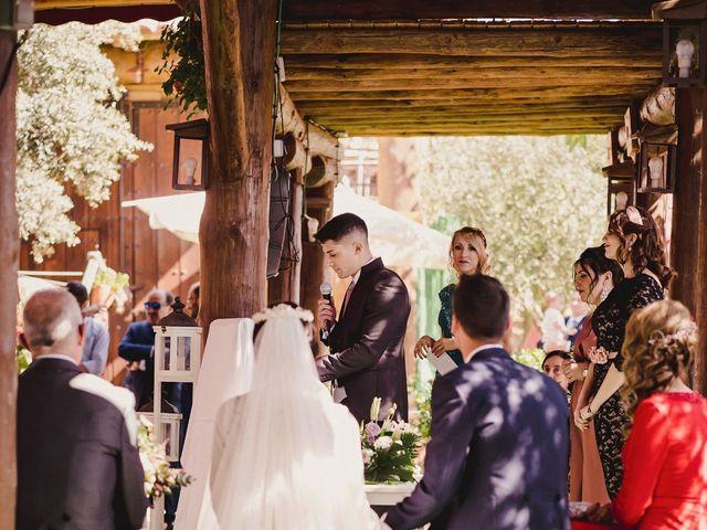 La boda de Arturo y Amaya en Villarrubia De Los Ojos, Ciudad Real 79