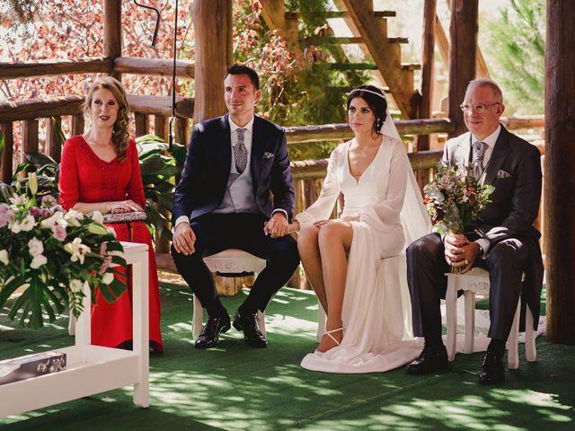 La boda de Arturo y Amaya en Villarrubia De Los Ojos, Ciudad Real 80