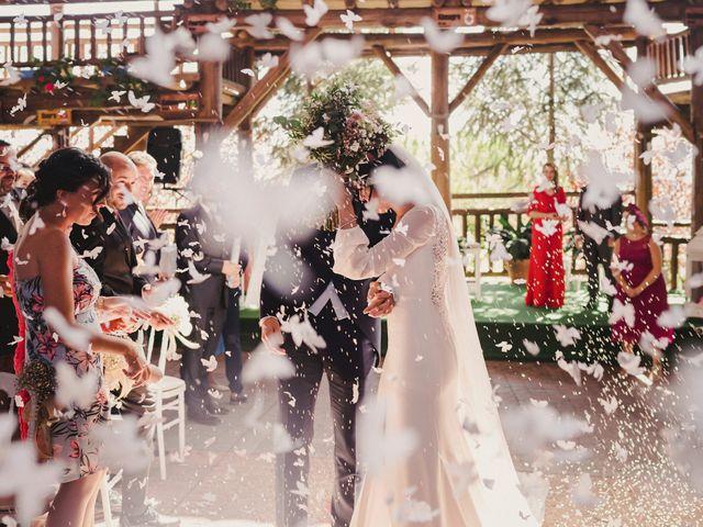 La boda de Arturo y Amaya en Villarrubia De Los Ojos, Ciudad Real 94