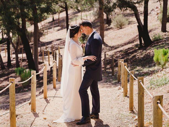 La boda de Arturo y Amaya en Villarrubia De Los Ojos, Ciudad Real 99
