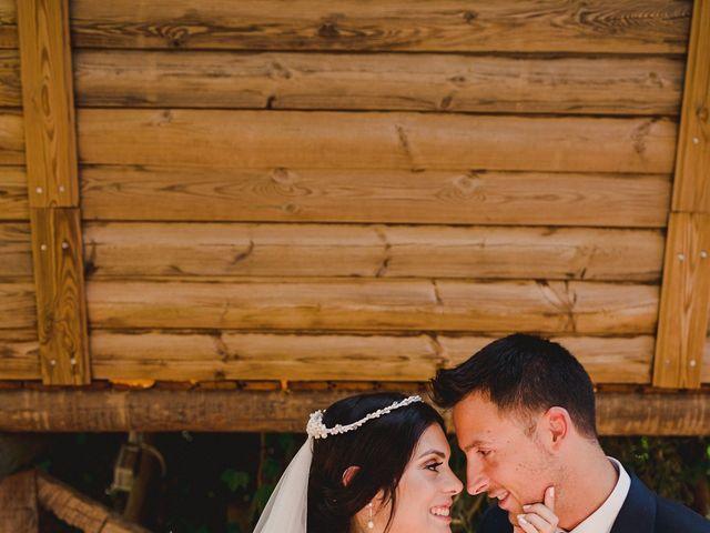 La boda de Arturo y Amaya en Villarrubia De Los Ojos, Ciudad Real 100