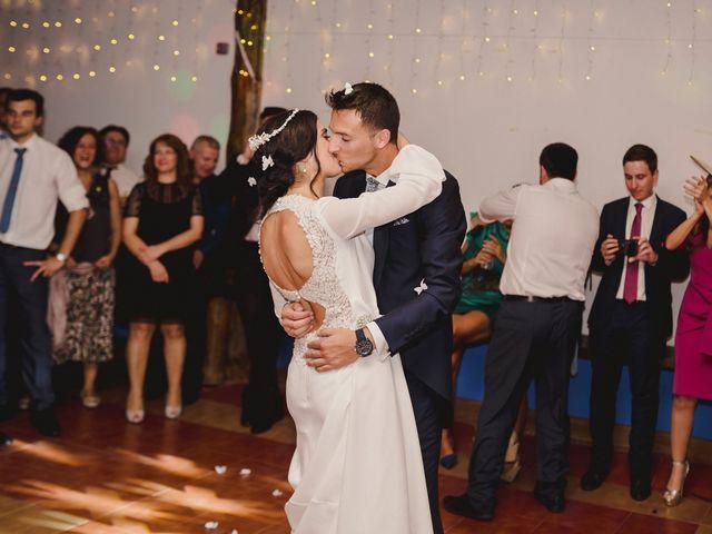 La boda de Arturo y Amaya en Villarrubia De Los Ojos, Ciudad Real 139