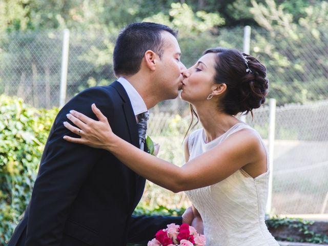 La boda de Javier  y Patricia en Canet D'adri, Girona 2