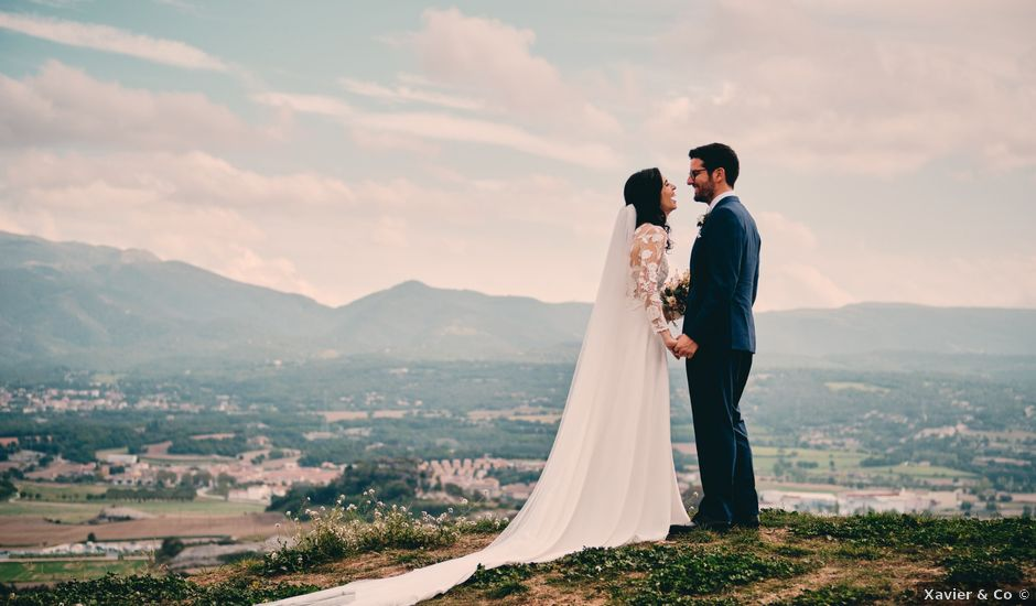 La boda de Salva y Liz en Taradell, Barcelona