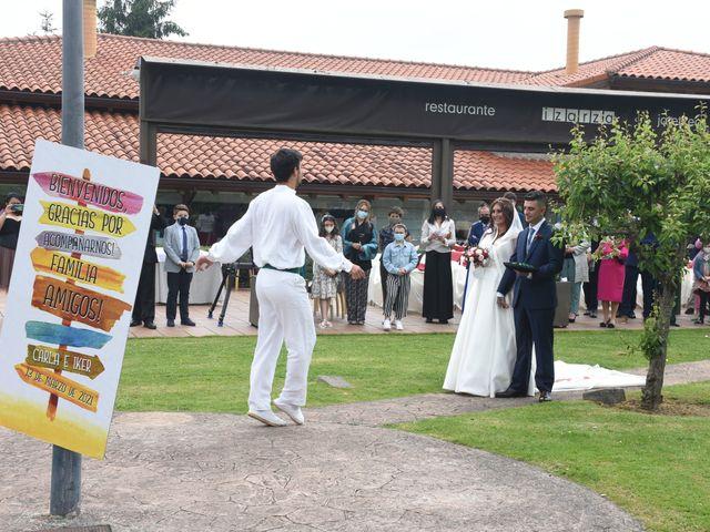 La boda de Iker y Carla en Sondika, Vizcaya 18