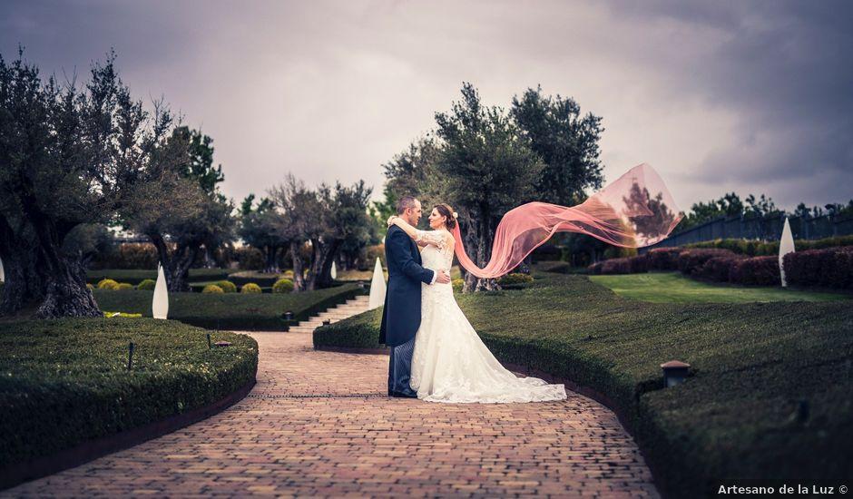 La boda de J. Luis y Raquel en Aranjuez, Madrid