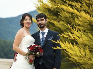 La boda de Astrid y Xavier