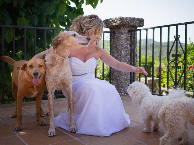 La boda de Dani y Miriam en Castellnou De Bages, Barcelona 8
