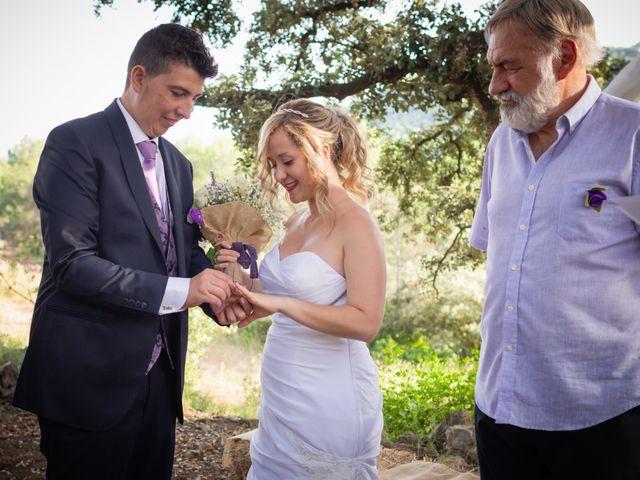 La boda de Dani y Miriam en Castellnou De Bages, Barcelona 17