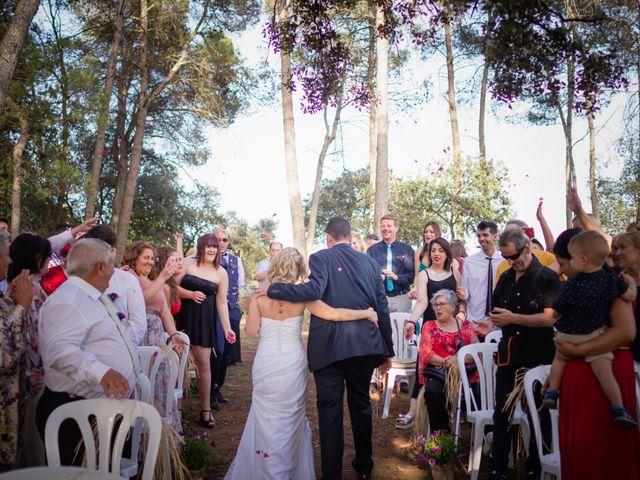 La boda de Dani y Miriam en Castellnou De Bages, Barcelona 2