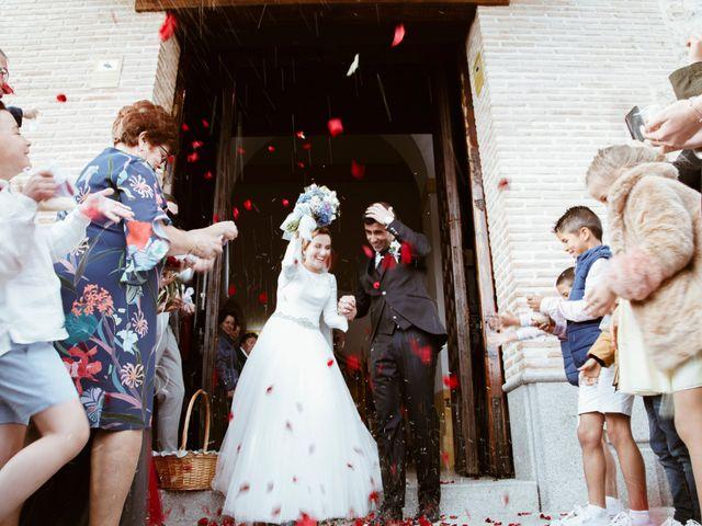 La boda de David y Inma en Illescas, Toledo 22