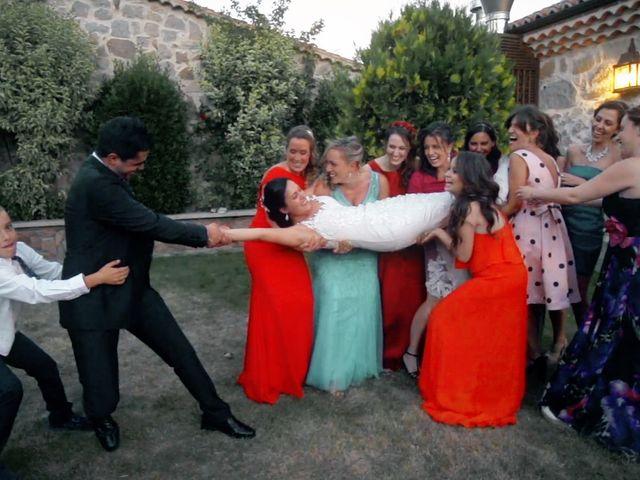 La boda de Fran y Alicia en Ávila, Ávila 11