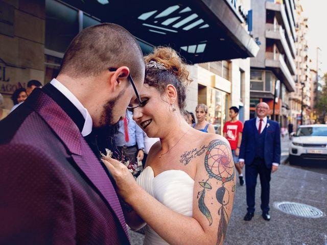 La boda de Alex y Natalia en Zaragoza, Zaragoza 45
