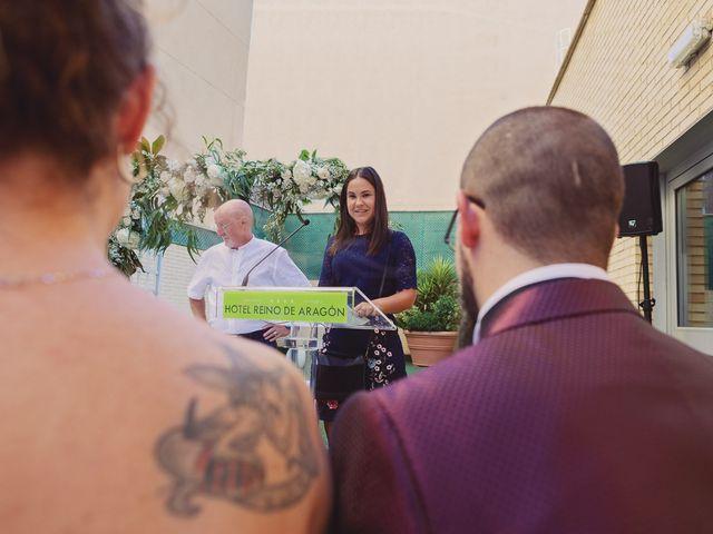 La boda de Alex y Natalia en Zaragoza, Zaragoza 52