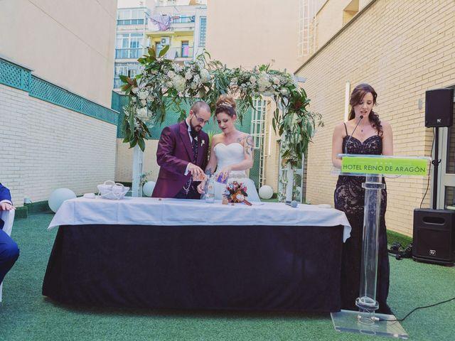 La boda de Alex y Natalia en Zaragoza, Zaragoza 60