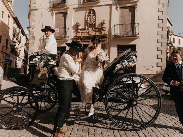 La boda de Elena y Juan en Guadix, Granada 76