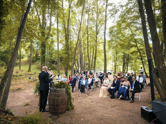 La boda de Xavier y Astrid en Sant Andreu De La Vola, Barcelona 1