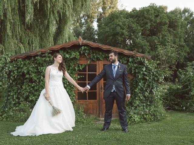 La boda de Sergio y Virginia en Santa Maria De Mave, Palencia 22