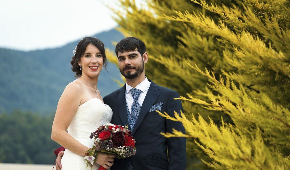 La boda de Xavier y Astrid en Sant Andreu De La Vola, Barcelona