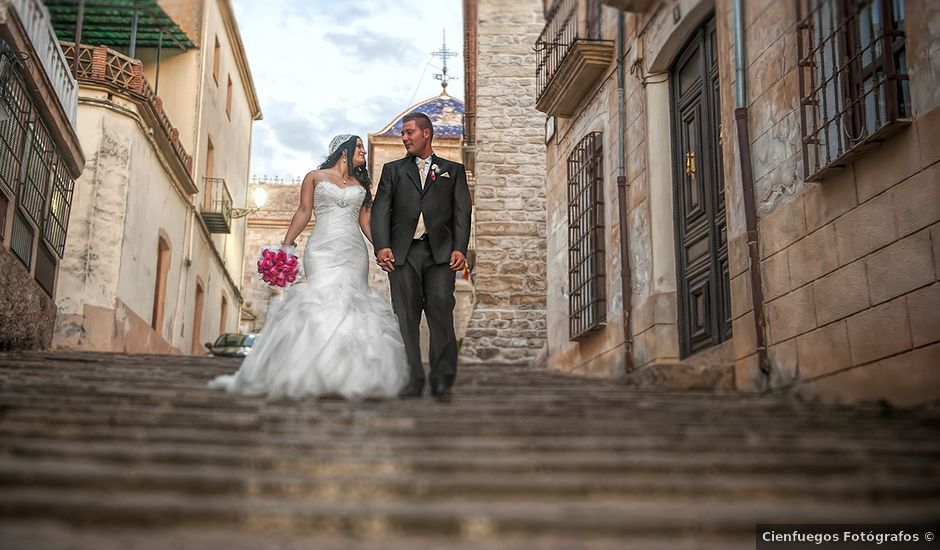 La boda de Agustin y Rosa en Castellar De Santisteban, Jaén