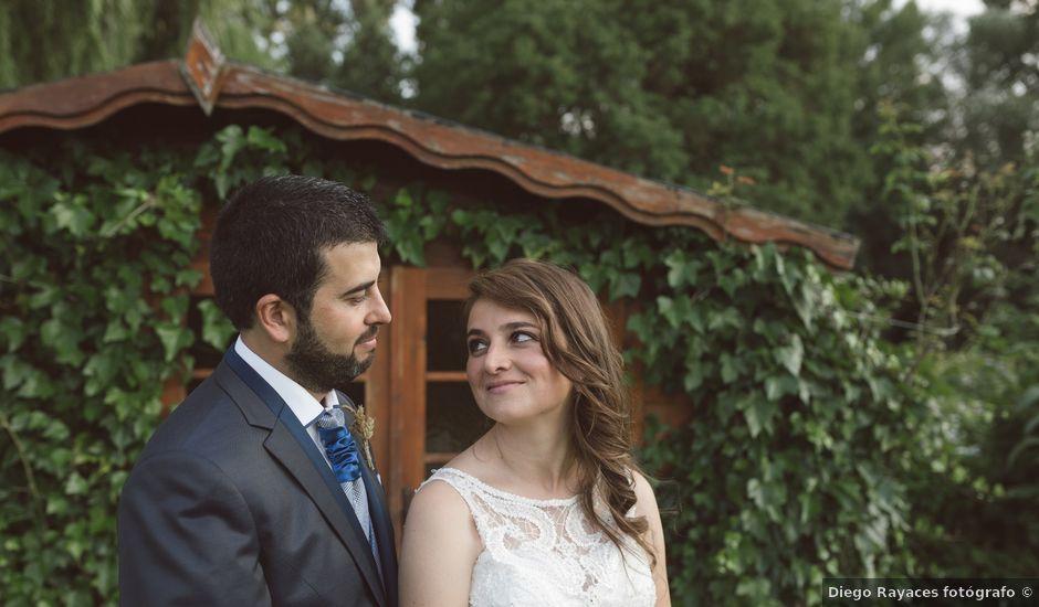 La boda de Sergio y Virginia en Santa Maria De Mave, Palencia