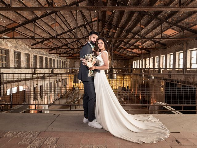 La boda de Jessica y Antonio en Otero De Herreros, Segovia 46