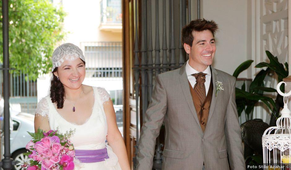 La boda de Carlos y Eva en Sevilla, Sevilla