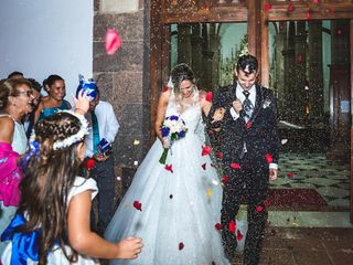 La boda de Aday y Selene