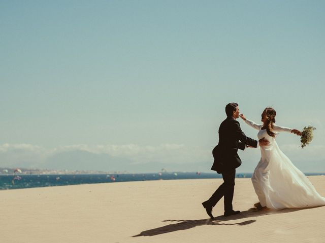 La boda de David y Naiara en Tarifa, Cádiz 67