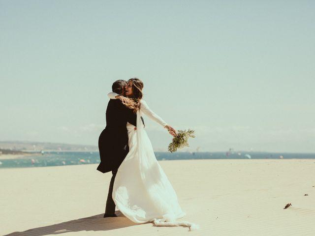 La boda de David y Naiara en Tarifa, Cádiz 72