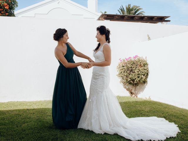 La boda de Victor y Lina en San Bartolomé, Las Palmas 28