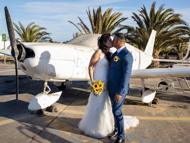 La boda de Victor y Lina en San Bartolomé, Las Palmas 67