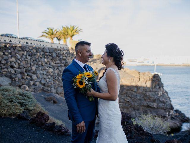 La boda de Victor y Lina en San Bartolomé, Las Palmas 70