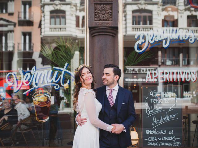 La boda de Javier y Alicia en Madrid, Madrid 234