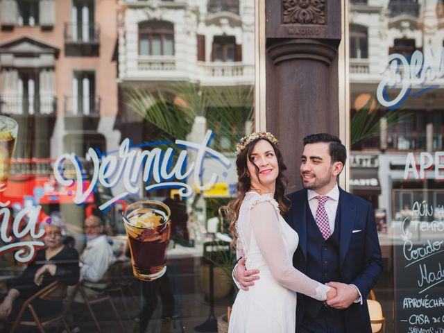 La boda de Javier y Alicia en Madrid, Madrid 235