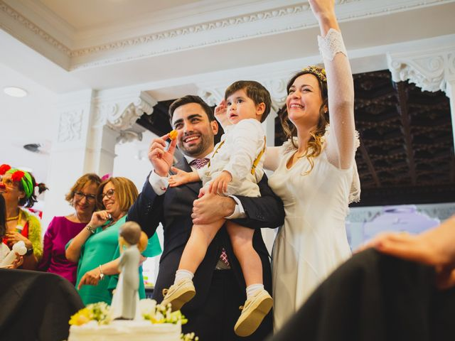 La boda de Javier y Alicia en Madrid, Madrid 386