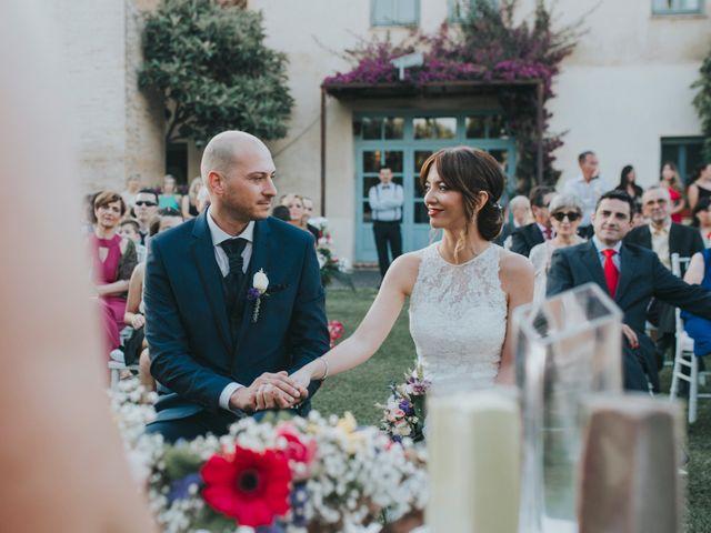 La boda de Kiko y Adriana en La Font D'en Carròs, Valencia 22