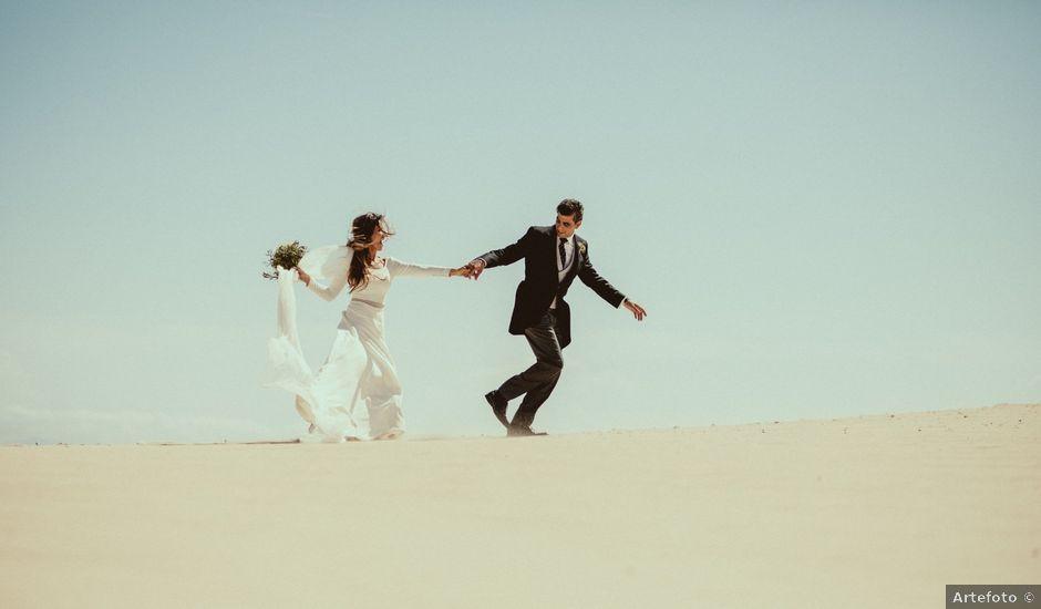 La boda de David y Naiara en Tarifa, Cádiz