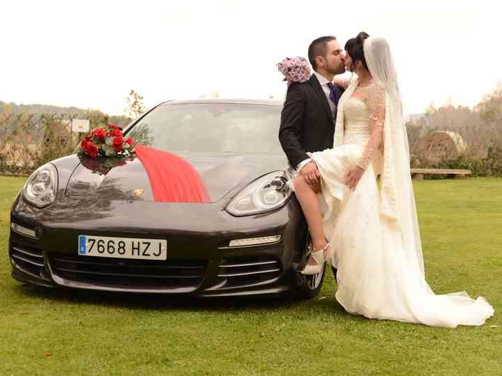 La boda de Mónica y Román