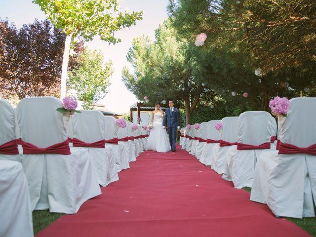 La boda de Carlos y Jéssica en Olmedo, Valladolid 35