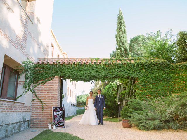 La boda de Carlos y Jéssica en Olmedo, Valladolid 36