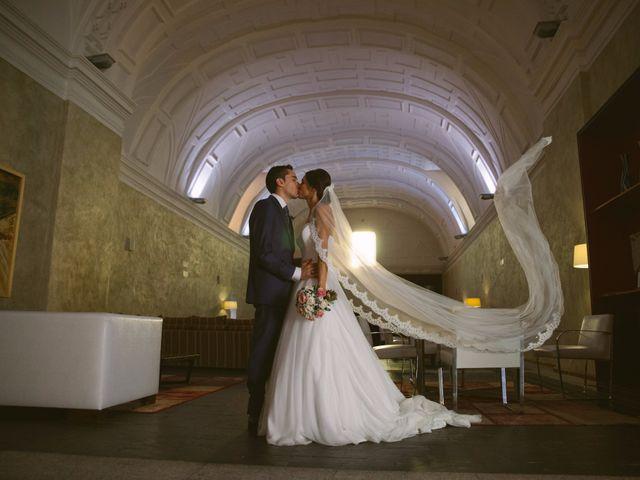 La boda de Carlos y Jéssica en Olmedo, Valladolid 39