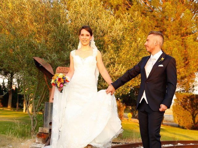 La boda de Adrián y Estefanía en Brunete, Madrid 36