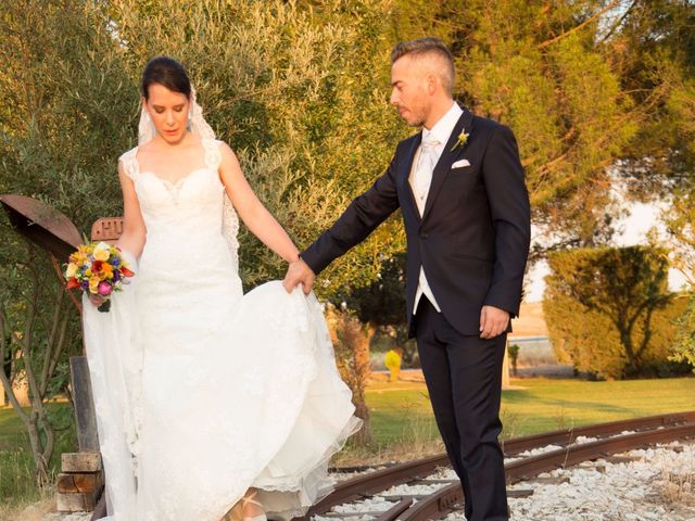 La boda de Adrián y Estefanía en Brunete, Madrid 37