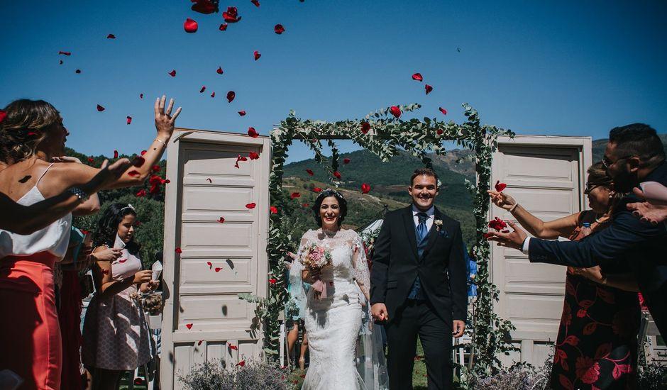 La boda de Ana y Ismael en Jarandilla, Cáceres