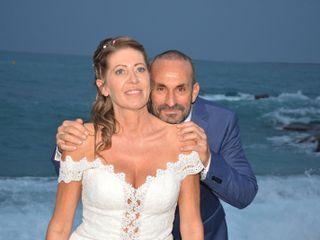 La boda de Sabine y Manuel